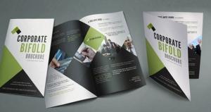 Ejemplo de folleto de publicidad, el díptico