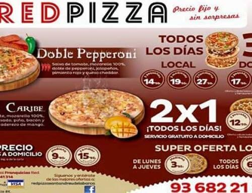 Publicidad para pizzerías