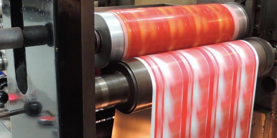 Flexografía técnica y método de impresión