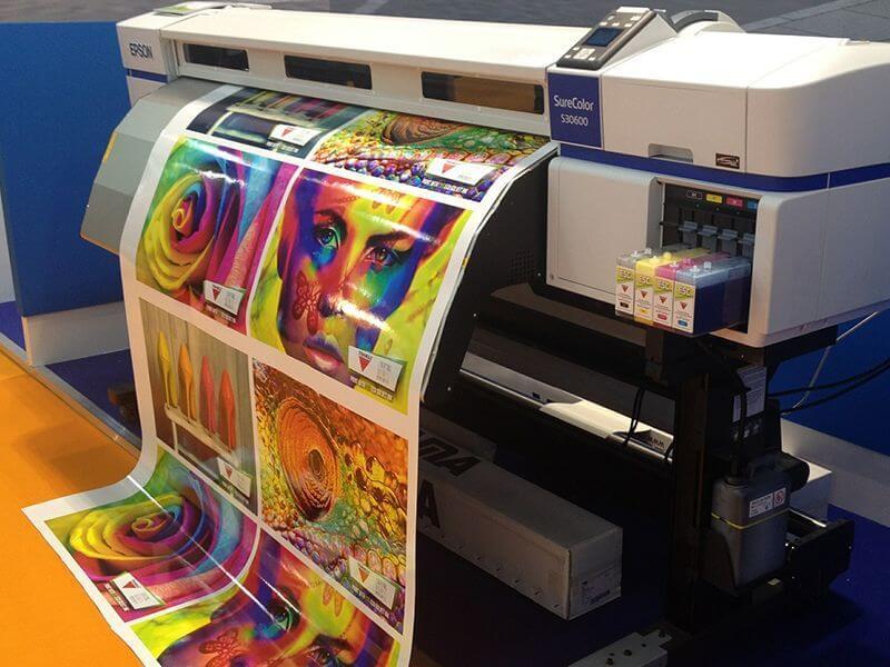 Impresión digital técnica de impresión